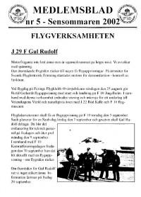 Medlemsblad nr 5