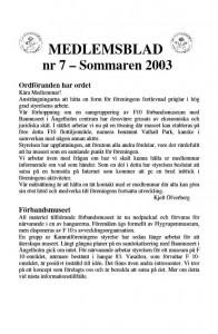 Medlemsblad nr 22